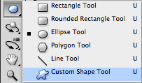 Choose custom shape