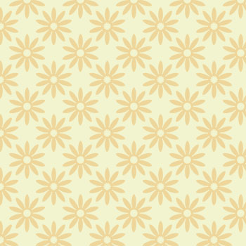 green flower pattern 2
