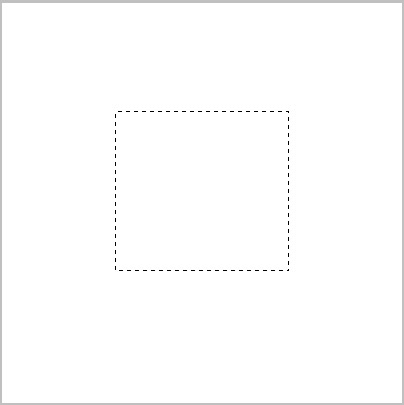 create a rectangle in the centre of the canvas