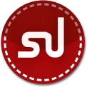 Stumble Upon red stitch icon