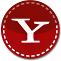 Yahoo red stitch icon