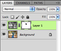 Layer Palette View