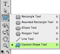 custom shape tool