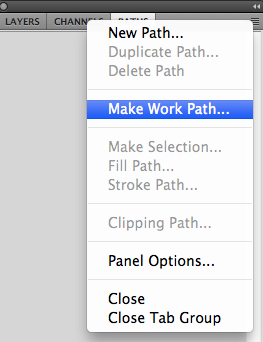 Make Work Path