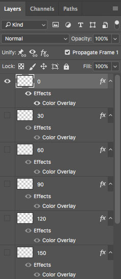 turn off other layers