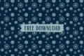 Free Snowflake Repeating Background for Photoshop