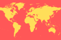 Free World Map Vector Shape Download for Photoshop