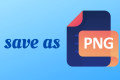 How to Save as a PNG in Photoshop